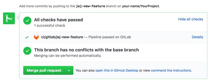 GitHub project integration | GitLab
